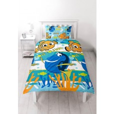 Character World Single Finding Nemo Dory Duvet Set - Multi-Colour