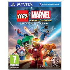 Lego Marvel Super Heroes Universe in Peril PS Vita Game - English Nordic