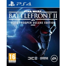 Star Wars Battlefront 2 The Last Jedi Heroes Video Game Deluxe edition PS4