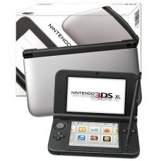 Nintendo Handheld Console 3DS XL Silver and Black
