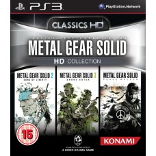 Metal Gear Solid HD Collection Sony PS3