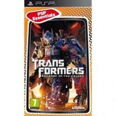 Transformers Revenge of the Fallen Essentials Edition PSP Game