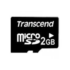 Transcend 2GB MicroSD Card with Adaptor