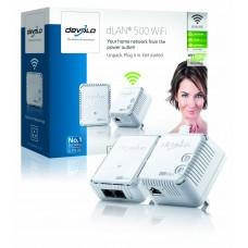 Devolo dLAN 500 WiFi Starter Kit - (2x plugs)