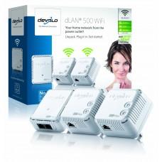 Devolo dLAN 500 WiFi NETWORK Kit - (3x plugs)