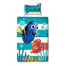 Disney Finding Nemo Dory Panel Print Single Duvet Set - Multi-Colour