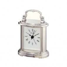 Seiko QHE109S Silver Mantel Clock