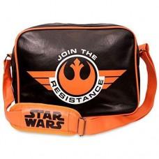 STAR WARS The Force Awakens Join the Resistance Messenger Bag - Black/Orange