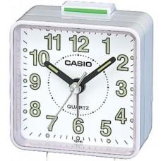 Casio TQ140-7 Beep Alarm Clock  White