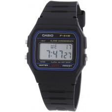 Casio Casual Digital Watch with Resin Strap (F91W-1YEF)