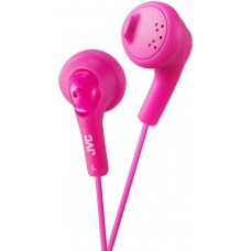 JVC Gumy Bass Boost Stereo Headphones for iPod iPhone MP3 and Smartphone - Peach Pink
