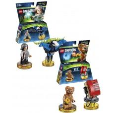 LEGO Dimensions Fun Packs Bundle - E.T. And Fantastic Beasts
