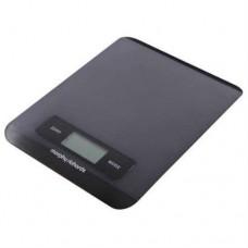 Morphy Richards 46180 Electronic Kitchen Scale Black