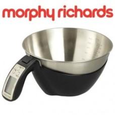 Morphy Richards 2 in 1 Jug Scale Black - Model No 970518