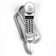 Binatone Wall Mountable Telephone with LCD - Silver (Model No TREND3LCD)