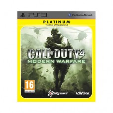 Call of Duty 4 Modern Warfare Platinum PS3