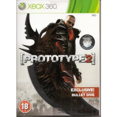 Prototype 2 Radnet Limited Edition with Exclusive Unlock Bullet Dive Xbox 360