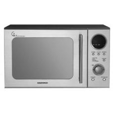 Daewoo Touch Dial Control Mircowave Oven 220V - Silver (Model KOR3000DSL)