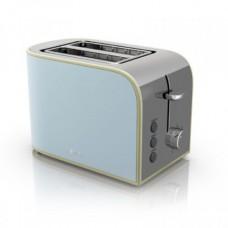Swan 2 Slice Blue Toaster - Model No ST17020BLN