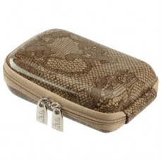 Rivercase Riva 7103 PU Digital Camera Case -  Beige/Lace