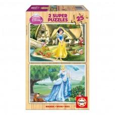 Educa Borras Cinderella and Snow White Jigsaw Puzzle 50-Piece (15591)