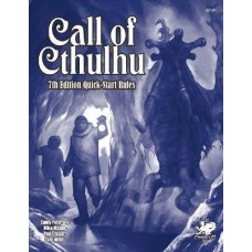 Call of Cthulhu 7th Edition Quick-Start Rules - Book