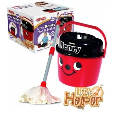 Casdon Henry Mop and Bucket - Cleaning Role Play Kids Toy