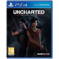 Uncharted The Lost Legacy Game + Jak and Daxter The Precursor Legacy PS4