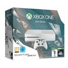 Xbox One Console Special Edition White 500GB WITHOUT Kinect + Quantum Break Game