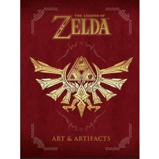 The Legend of Zelda Art and Artifacts Hardcover Guide Book