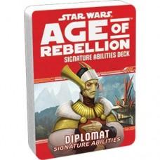 Star Wars: Age of Rebellion RPG - Signature Abilities Deck: Diplomat