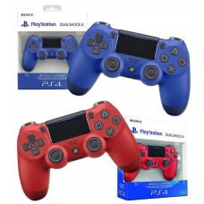 2x New Sony PlayStation 4 Dualshock PS4 Controllers DS4 Red and Blue Bundle