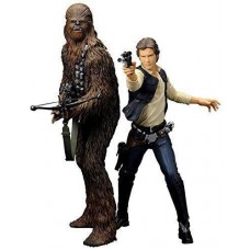 Star Wars Han Solo and Chewbacca ARTFX+ Statue Figures Toys