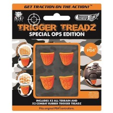 Trigger Treadz Special Ops Edition PS4 - 2x All Terrain and 2x Combat Rubber