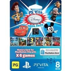 Sony PlayStation Vita Disney Mega Pack and 8GB Memory Card PS Vita