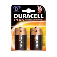 Duracell MN1300B2PLUS 2Pk 1.5V Batteries D Size