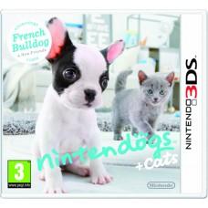 Nintendogs + Cats - French Bulldog + New Friends Nintendo 3DS
