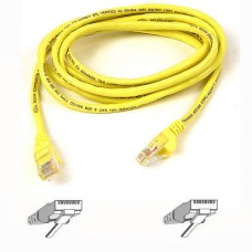 Belkin Cat5e Snagless UTP Patch Cable (Yellow) 3m