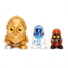 Star Wars Chubby C3PO/ R2D2/ Jawa Droids Russian Figurines Set Collectable