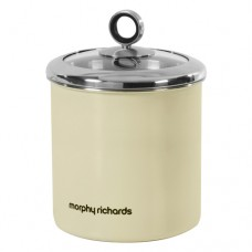 Morphy Richards 46282 Large Storage Canister Cream