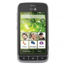 Doro Liberto 820 Mini SIM-Free Camera Smartphone Andriod 4GB- Black/Steel