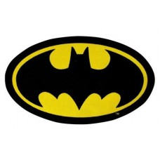 Character World Batman Batcave Original Logo Rug - 98cm x 57cm