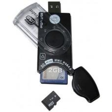 Dynamode USB-CR-31 Mobile SIM and Memory Card Reader