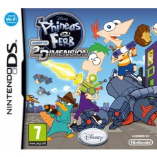 Phineas and Ferb Across the 2nd Dimension Nintendo DS