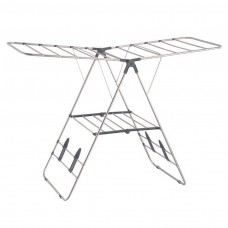 OurHouse Stainless Steel Winged Airer - Silver (Model No. SR20012)