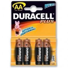 Duracell AA Alkaline Plus Long lasting Battery Pack of 4 (MN1500B4BASIC)