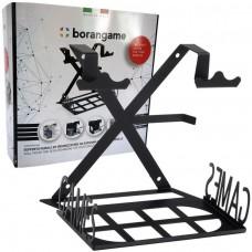 GameSpiderSwap PS4 Console Wall Mount + Desk Organizer + Spiral Wrap Cable Black
