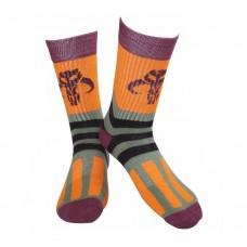Star Wars Adult Male Bobba Fett Logo Crew Socks 39/42 Multi-Colour