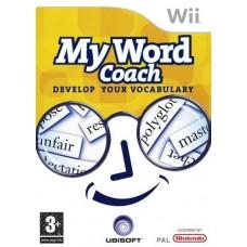My Word Coach Nintendo Wii Game