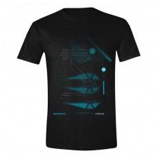 Star Wars Rogue One Galactic Empire Star-Fighter Striker T-Shirt M - Black